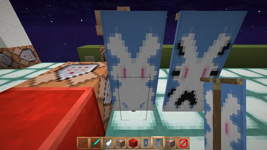 【Minecraft】1.11におけるバナー(旗)のベース色パレット変更と、NoAIモブの変更についてのまとめと対策