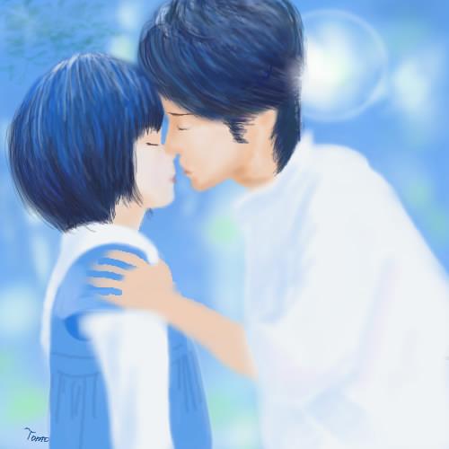 【絵】ただ、君を愛してるを描いてみた - 出演: 玉木宏, 宮崎あおい