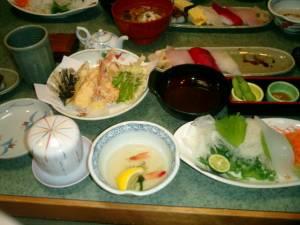 う越勝の料理
