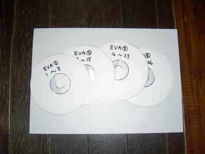 エヴァンゲリオン動画CD