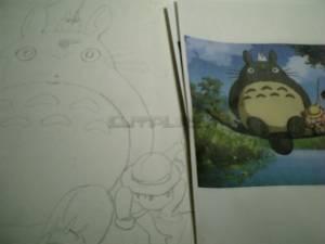 これから何日かかけてトトロの絵を描いてみようと思います。