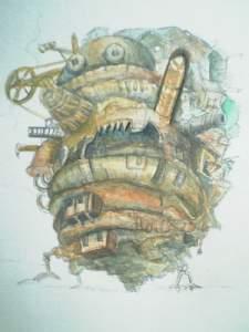 【画像】ハウルの動く城の絵の色塗り