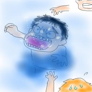 りょうたろう、川で溺れる