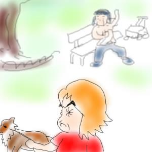 【悪夢】公園で散歩中に見たもの