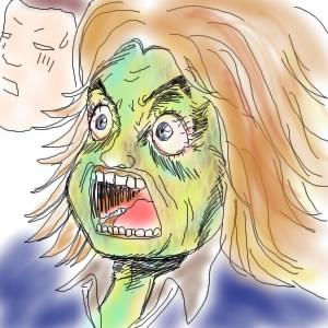 余りの残虐性のある映像の数々に顔面蒼白しているTomo